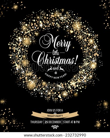 Christmas Invitation Stock Images Royalty Free Images Vectors