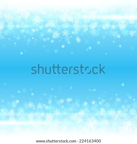 Christmas light background. Card or invitation. Raster version.