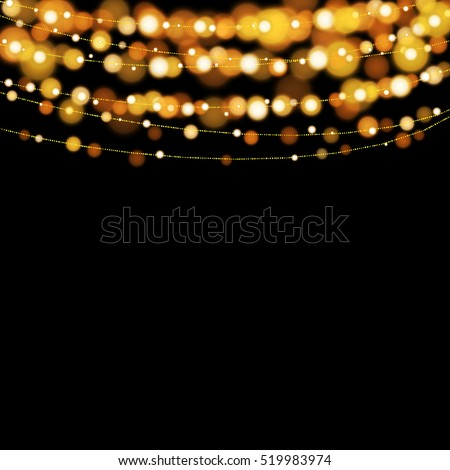Christmas String Lights Background : String Lights Stock Images, Royalty-Free Images & Vectors Shutterstock