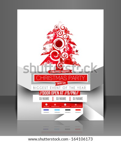 Free template poster for christmas party