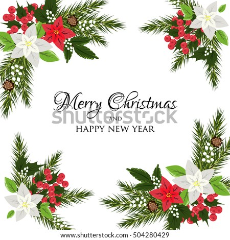 christmas invite background
