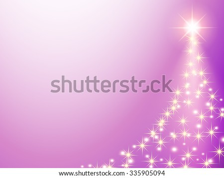 Christmas pink purple Background. Abstract Vector Illustration. - stock vector