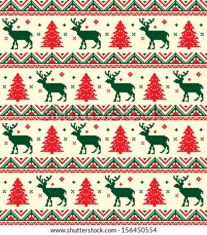 xmas embroidery vintage christmas pattern vintage christmas pattern    Vintage Christmas Pattern