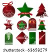 christmas price tags. vector - stock vector