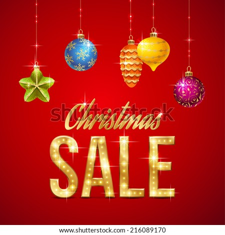 Flash sales stock photos images pictures shutterstock for Christmas sale items