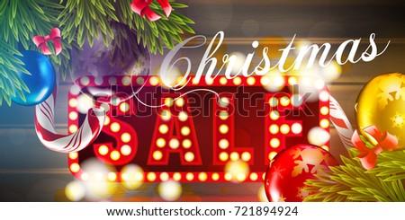 Christmas Vector Background Fir Tree Branch Stock Vector 513211135 ...