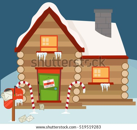 Santas House Stock Images Royalty Free Images Amp Vectors