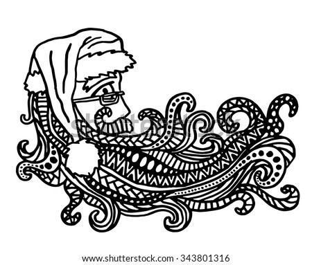 intricate coloring pages christmas - photo#26