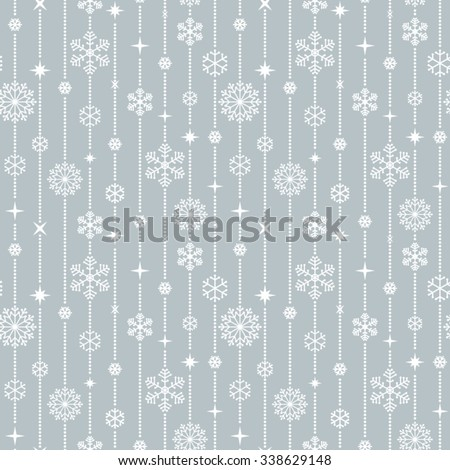 Christmas seamless pattern.  - stock vector