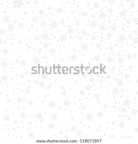 Contemporary Snowflake Background Pattern With Snowflakes Abstract Gray Vector Illustration White To Inspiration