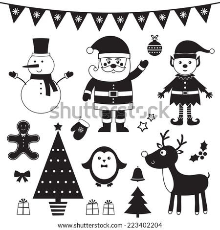 Transparentbackgroundchristmas 11241 also Snowman Outline Cliparts as well Cartoon Santa Claus With A Gift 15300118 also Black And White Santa Claus 15983967 besides 1127815 Royalty Free Christmas Gift Clipart Illustration. on reindeer snowman clip art