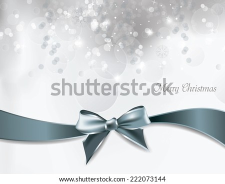 Christmas Shiny Background. - stock vector