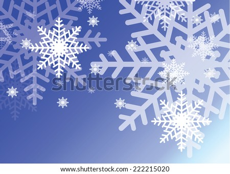 Christmas snow background.