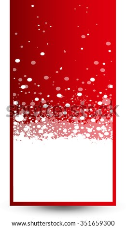 Christmas snowflakes background template for Your design.