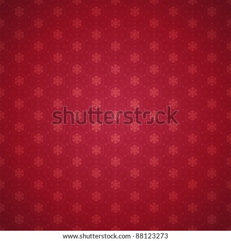 Christmas snowflakes pattern vector background. Eps 10. - stock vector