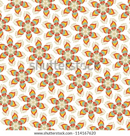 Christmas Star Decorative Wrapping Paper Stock Vector