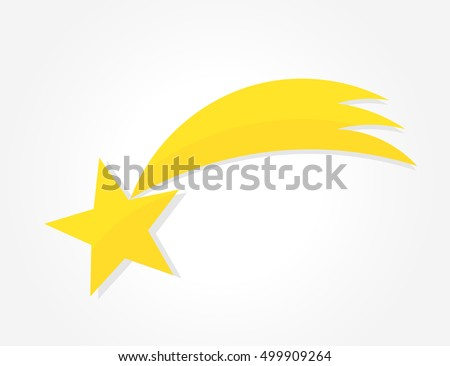 Christmas star of Bethlehem icon.Vector illustration