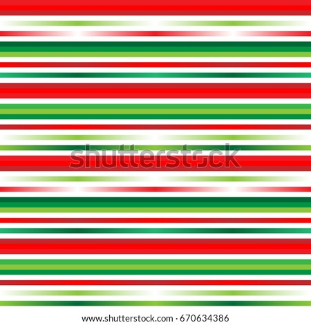 Christmas Theme Color Red And Green Stripe Pattern Background Seamless Horizontal