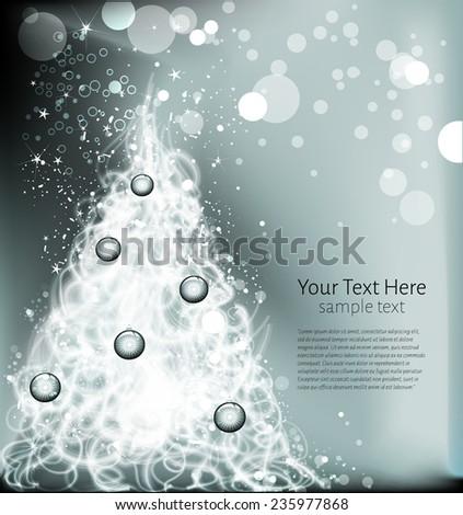 Christmas Tree  - stock vector