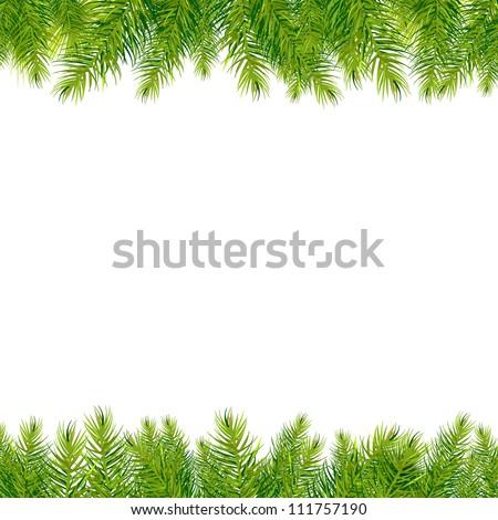 Christmas Tree Page Borders