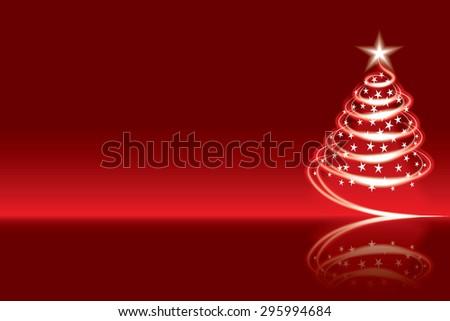 Christmas tree Merry Christmas - stock vector