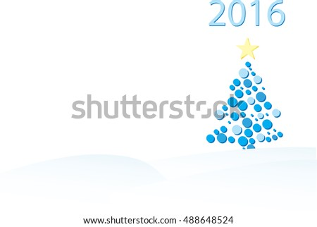 Christmas tree to illustrate christmas 2016