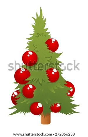 christmas tree vector - Little Christmas Tree