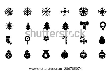 Christmas Vector Icons 1  - stock vector