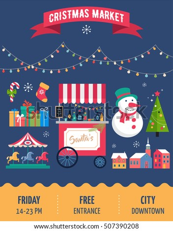 Christmas Board Game Vector Stock Images Royalty Free