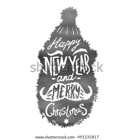 Santa Silhouette Stock Images, Royalty-Free Images & Vectors ...