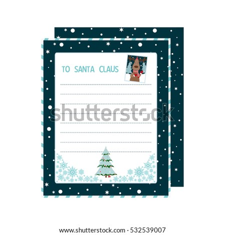 Christmas Wish List Images RoyaltyFree Images Vectors – Santa Wish List Template