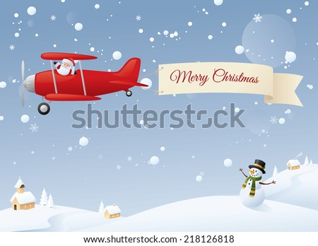 Christmas Wishes to one and all. Change to your message. - stock vector