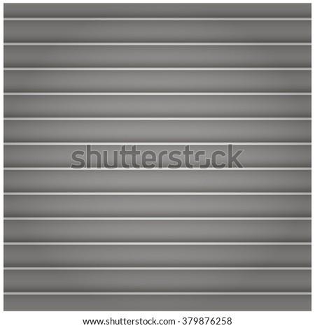 Chrome metal background - stock vector