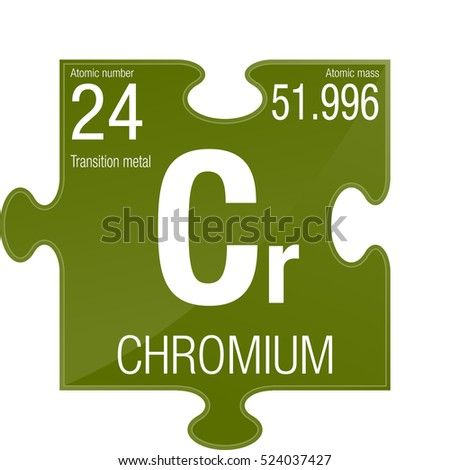 Chromium element stock images royalty free images vectors chromium symbol element number 24 of the periodic table of the elements chemistry urtaz Choice Image