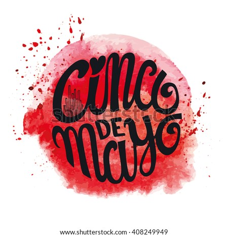 Cinco de mayo greeting lettering greeting stock vector 408249949 cinco de mayo greeting lettering greeting cardxico vectorflat handwritten wordtitle m4hsunfo Image collections