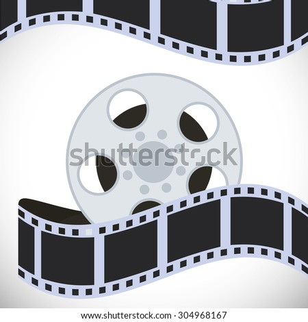 Cinema digital design, vector illustration 10 eps graphic