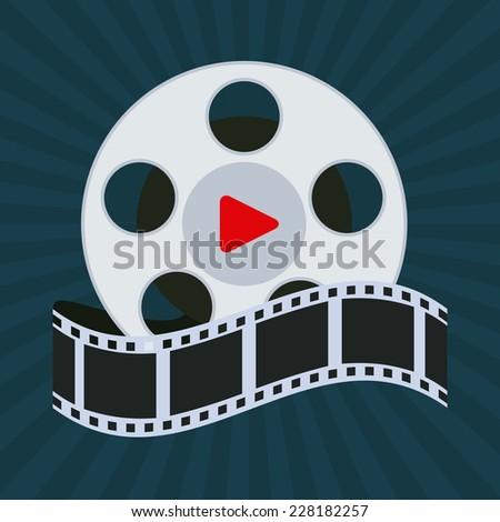 cinema graphic design , vector illustration
