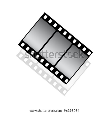 Cinema icon - stock vector