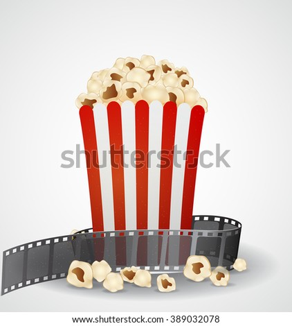 Cinema movie background