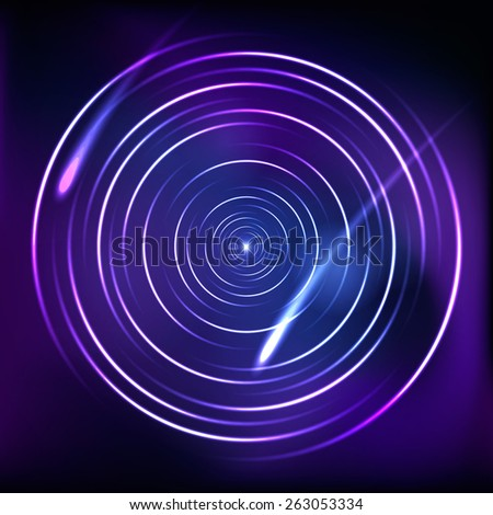 Circle background. Vector illustration - stock vector