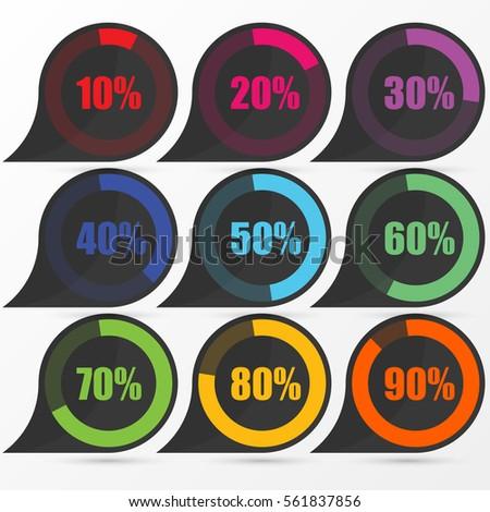 Circle diagram pie charts infographic elements stock vector circle diagram pie charts infographic elements vector illustration ccuart Images
