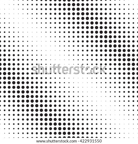 Circle Geometric Pattern.Seamless Pattern.Circle Abstract Pattern.Circle Seamless Pattern.Circle halftone dots vector texture background - Pixel background Texture.Overlay Halftone Pattern . - stock vector