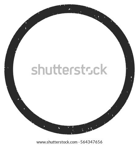 circle grainy textured icon overlay watermark stock vector royalty