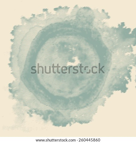 circle grunge halftone texture. vector illustration - stock vector