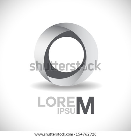 Circle Icon - Isolated On Background - Vector Illustration, Graphic Design Editable For Your Design. - stock vector