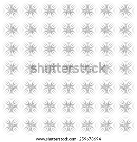 Circle line graphic seamless background - stock vector