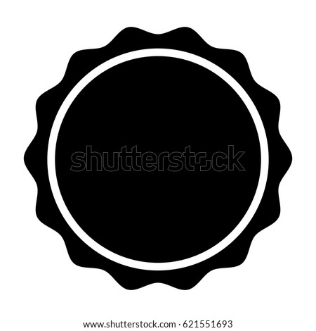 circle seal stamp lace stock vector 621551693 shutterstock rh shutterstock com seal victoria's secret seal victor 60265
