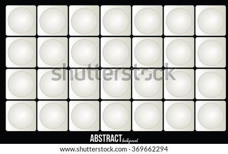 Circle shape abstract background.