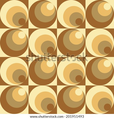 Circles In Circles pattern repeats seamlessly.