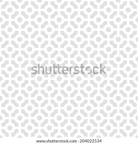 Circles seamless pattern background illustration - stock vector